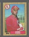 數位內容 - 【送料無料】スポーツ メモリアル カード フォードコレクターカード399 curt ford 1987 baseball collector card