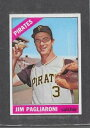 數位內容 - 【送料無料】スポーツ メモリアル カード #ジム1966 topps baseball 33 jim pagliaroni exmt *343