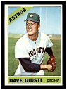 【送料無料】スポーツ メモリアル カード #デイブギュスティ1966 topps baseball 258 dave giusti