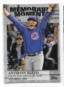 【送料無料】スポーツ メモリアル カード アンソニーリッツォシカゴカブス2017 topps anthony rizzo chicago cubs memorable moments mm2