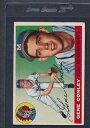 數位內容 - 【送料無料】スポーツ メモリアル カード #1955 topps 081 gene conley braves vgex *353