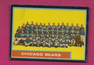 【送料無料】スポーツ メモリアル カード 1962topps 25chicago bears team photo exmt cardinv a60971962 topps 25 chicago bears team photo exmt card inv a6097
