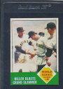 【送料無料】スポーツ メモリアル カード 1963トップス145ワールドシリーズゲーム4 exmt 63t1459041631963 top...