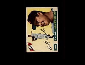 【送料無料】スポーツ メモリアル カード 1955トップス53テーラーvgexd5723211955 topps 53 bill taylor vgex d572321