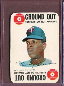 【送料無料】スポーツ メモリアル カード ゲームロッド1968 topps game 29 rod carew ex d140599