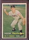 【送料無料】スポーツ メモリアル カード 1957トップス237フォスターカースルマンexmtd1062151957 topps 237 f...