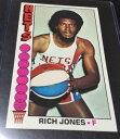 【送料無料】スポーツ メモリアル カード #リッチジョーンズチームニューヨークネット197677 topps 52 rich jones team york nets