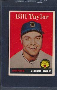 【送料無料】スポーツ メモリアル カード #ビルテイラータイガースマウント1958 topps 389 bill taylor tigers exmt 58t389826152