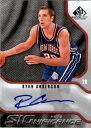 【送料無料】スポーツ メモリアル カード 200910 spゲームsignificancesanライアンアンダーソン nmmt200910 sp game used significance san ryan anderson auto nmmt