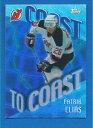 【送料無料】スポーツ メモリアル カード ニュージャージーデビルズ#patrik elias 200102 topps coast to c...