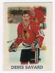 【送料無料】スポーツ メモリアル カード デニスサバール#198889 opeechee minis denis savard 34