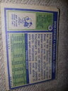 【送料無料】スポーツ メモリアル カード ボブマイアミドルフィンズ#サッカーカード1972 topps bob griese miami dolphins 80 football card