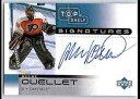 【送料無料】スポーツ メモリアル カード シェルフシグネチャ200203 ud top shelf signatures maxime ouellet mo