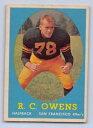 數位內容 - 【送料無料】スポーツ メモリアル カード 1958rcowens トップスrookieフットボール64san francisco 49ers1958 rc owens topps rookie football card 64 san francisco 49ers