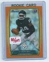 【送料無料】スポーツ メモリアル カード ルベルオレンジパラレルカード#leveon leveon bell 2013 bowman orange foil parallel rookie card 123 299