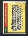 【送料無料】スポーツ メモリアル カード #カブスチームカブス1961 topps 122 cubs team vgvgex cubs 48...
