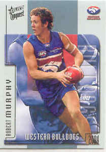 【送料無料】スポーツ メモリアル カード ロバート2004 select afl conquest 207 robert murphybulldogs