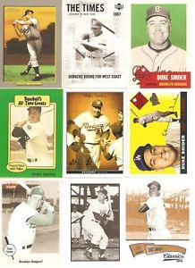 【送料無料】スポーツ メモリアル カード listing9 card duke snider baseball card lot18 listing9 card duke snider baseball card lot 18