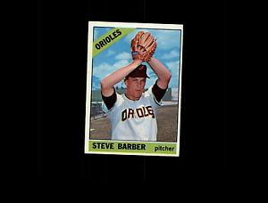 【送料無料】スポーツ メモリアル カード 1966トップス477スティーブバーバーexd5261671966 topps 477 steve barber ex d526167