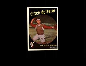 【送料無料】スポーツ メモリアル カード オランダ1959 topps 288 dutch dotterer nm d628989