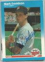 【送料無料】スポーツ メモリアル カード ミネソタツインズmark davidson1987サインminnesota twins mark davidson autographed 1987 fleer