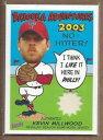 數位內容 - 【送料無料】スポーツ メモリアル カード 2004バズーカkmケビンミルウッドジャージー2004 bazooka adventures relics km kevin millwood jersey