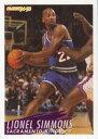数码内容 - 【送料無料】スポーツ メモリアル カード バスケットボールマップ#ライオネルシモンズfleer 1994 1995 basketball nba map 201 lionel simmons