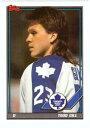 【送料無料】スポーツ メモリアル カード トップスアイスホッケー1991 nhlpanhl361トッドギル