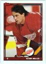 【送料無料】スポーツ メモリアル カード トップスアイスホッケー1991 nhlpanhl125ケビンミラー
