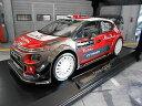 【送料無料】模型車 モデルカー スポーツカー シトロエンラリーテストプレアブダビcitroen ds3 c3 rallye wrc 2017 test presention meeke breen abu dhabi norev 118