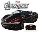 【送料無料】模型車 モデルカー スポーツカー アキュラロードスタートニースタークアイアンマンモデルacura nsx roadster 2012 avengers movie tony stark iron man 143 model