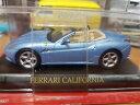 【送料無料】模型車 モデルカー スポーツカー フェラーリカリフォルニアアッズーロスカラオーヴァferrari california azzurro metallizzato scala 143 deagostini nuova