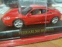 【送料無料】模型車 モデルカー スポーツカー フェラーリモデナロッサスカラオーヴァferrari 360 modena rossa scala 143 deagostini nuova