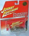 【送料無料】模型車 モデルカー スポーツカー ポンチョパワーポンティアックカタリナゴールドメタリックジョニーponcho power 1961 pontiac catalina gold metallic 164 johnny lightning