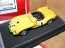 【送料無料】模型車 モデルカー スポーツカー テクノモデルミフェラーリテスタロッサ#tecnomodel tmi24be ferrari 250 testa rossa 6, 1958 yellow cars, resin 143