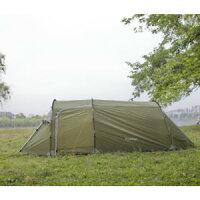 【送料無料】キャンプ用品 3 ファミリーグラウンドシートトンネルハイキングテント3 man family tent easy build hiking camping tunnel shelter sewn in groundsheetの画像