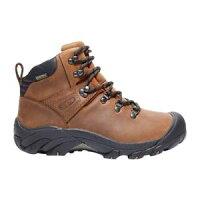 【送料無料】キャンプ用品 ピレネーハイキングブーツブラウンkeen pyrenees womens hiking boots brownの画像
