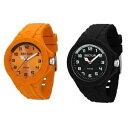 【送料無料】orologio uomo sector steeltouch silicone nero arancione sub 100mt colorato
