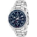 【送料無料】orologio uomo sector 890 r3273803002 chrono bracciale acciaio blu sub 100mt