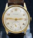 【送料無料】original fancy vintage 1940 longines manual wind gold watch service 10l with box