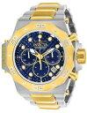 【送料無料】 mens invicta 23101 akula quartz chronograph 58mm two tone 58mm watch