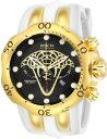 【送料無料】invicta mens reserve quartz chronograph 1000m stainless steel watch 24066