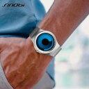 【送料無料】sinobi stylish and futuristic watch men women, water resistant 3 bar 30m