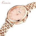 【送料無料】kimio fashion simple wrist watch women bracelet watch strap skeleton pointer 3d1