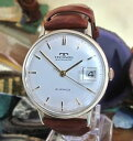 【送料無料】technos automatic 9 k gold serviced watch eta 2472 service one year warranty