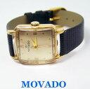 【送料無料】vintage mens 18k movado winding watch 1940s cal 260 * exlnt* serviced