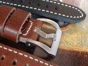手錶 - 【送料無料】quality leather strap hand made to fit panerai pam watches by eichmueler germany