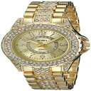 【送料無料】xoxo womens xo5747 analog display analog quartz goldtone watch water resistant
