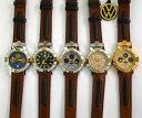 【送料無料】orologio watch volkswagen originale original anni 70 pelle leather nuovi