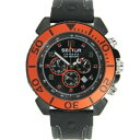 【送料無料】sector herren uhr cronograph centurion leder r3271603025